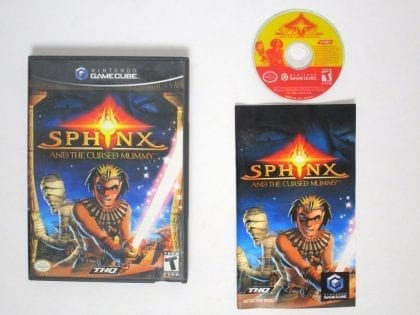 Sphinx and the Cursed Mummy game for Nintendo Gamecube -Complete