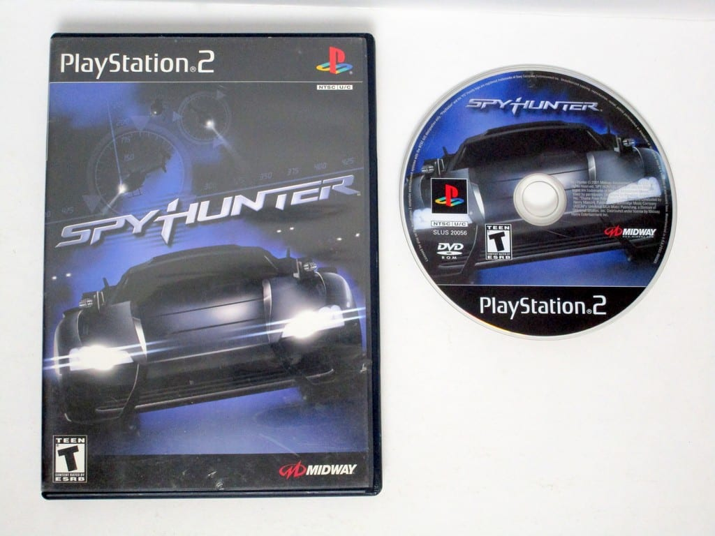 Spy Hunter game for Sony Playstation 2 PS2 -Game & Case