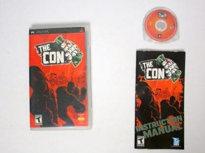 The Con game for Sony PSP -Complete
