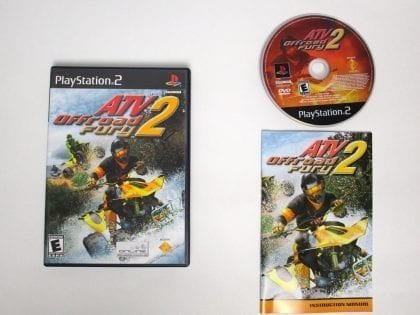 ATV Offroad Fury 2 game for Sony Playstation 2 PS2 -Complete