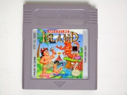 Adventure Island game for Nintendo GameBoy - Loose
