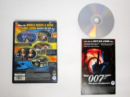 Agent Under Fire game for Playstation 2 (Complete)   The Game Guy