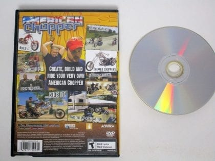 American Chopper game for Playstation 2 | The Game Guy