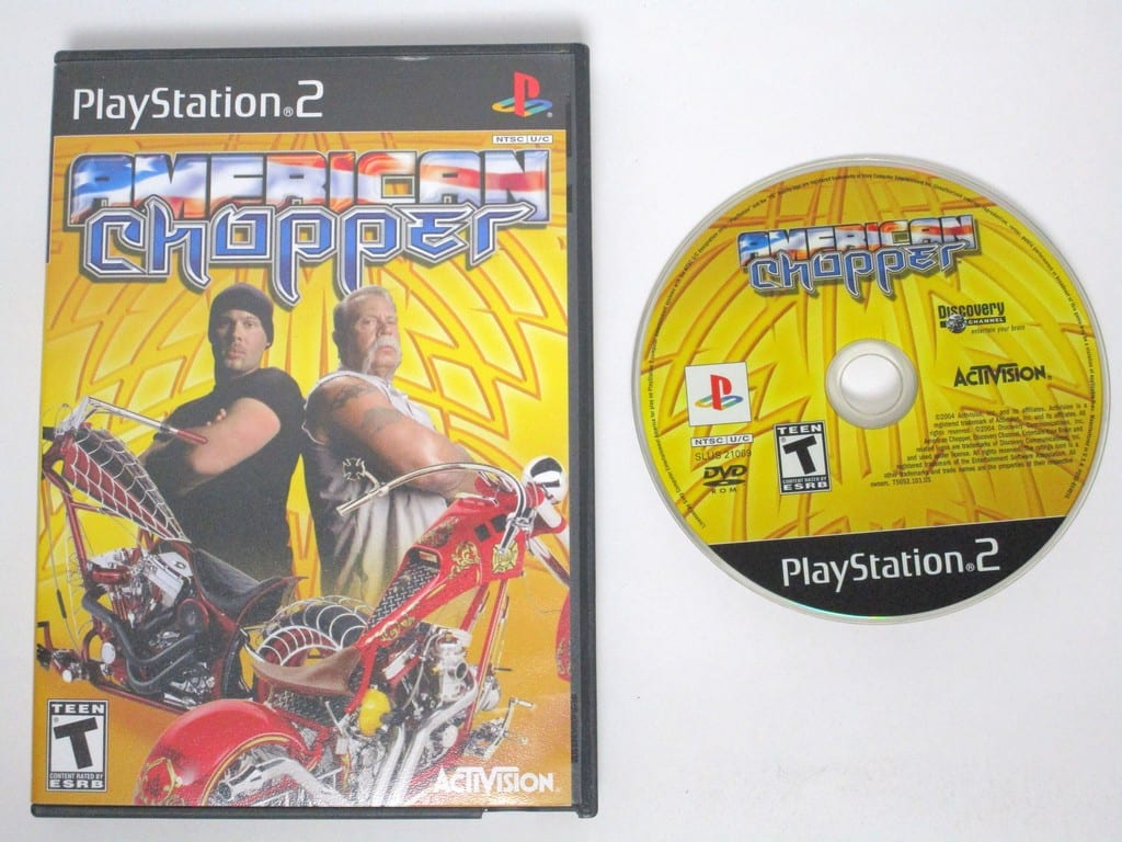 American Chopper game for Sony Playstation 2 PS2 -Game & Case