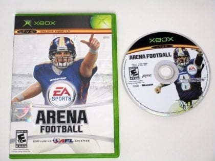 Arena Football game for Microsoft Xbox -Game & Case