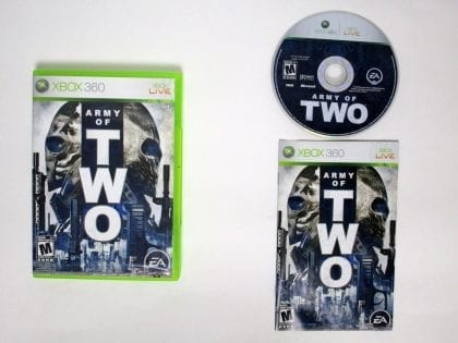 Army of Two game for Microsoft Xbox 360 -Complete