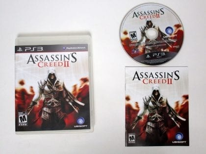 Assassin's Creed II game for Sony Playstation 3 PS3 -Complete