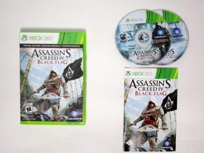 Assassin's Creed IV: Black Flag game for Microsoft Xbox 360 -Complete