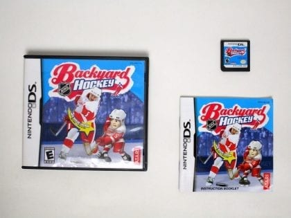 Backyard Hockey game for Nintendo DS -Complete
