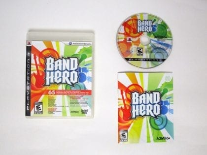 Band Hero game for Sony Playstation 3 PS3 -Complete