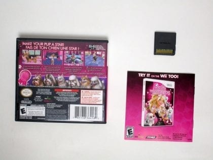 Barbie: Groom and Glam Pups game for Nintendo DS (Complete)   The Game Guy