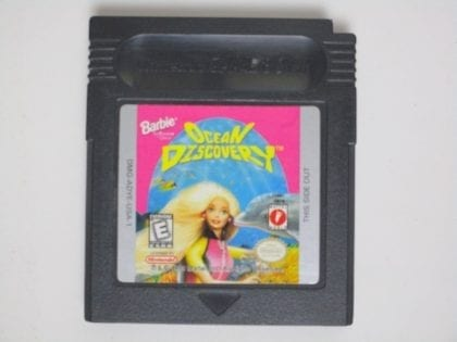 Barbie Ocean Discovery game for Nintendo GameBoy Color - Loose