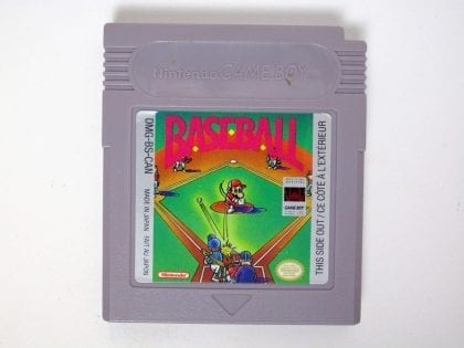 Baseball game for Nintendo GameBoy - Loose
