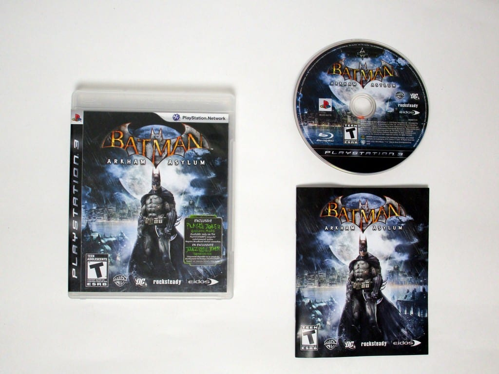 Batman: Arkham Asylum game for Sony Playstation 3 PS3 -Complete