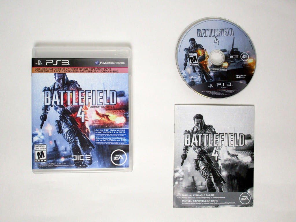 Battlefield 4 game for Sony Playstation 3 PS3 -Complete