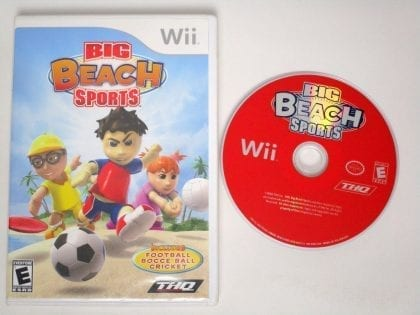 Big Beach Sports game for Nintendo Wii -Game & Case