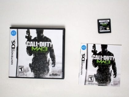 Call of Duty: Modern Warfare 3 game for Nintendo DS -Complete