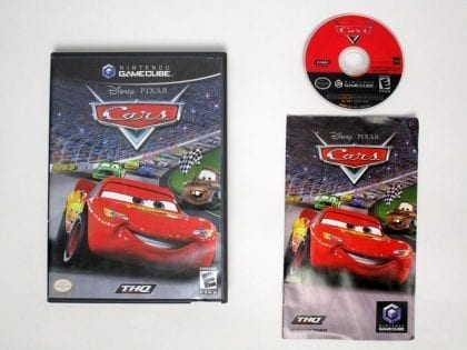 Cars game for Nintendo Gamecube -Complete