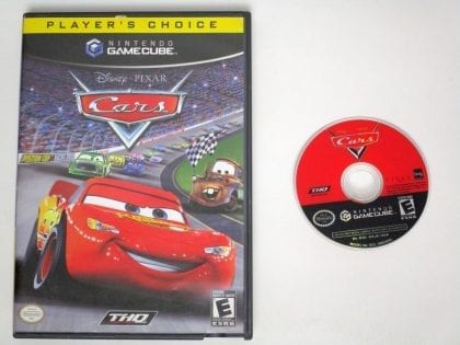 Cars game for Nintendo Gamecube -Game & Case