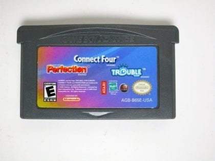 Connect Four/Trouble/Perfection game for Nintendo Gameboy Advance - Loose