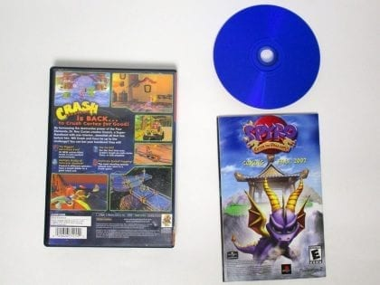 Crash Bandicoot Wrath Cortex game for Sony Playstation 2 PS2 -Complete