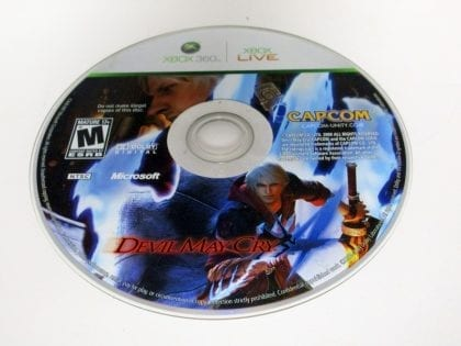 DMC: Devil May Cry game for Microsoft Xbox 360 - Loose
