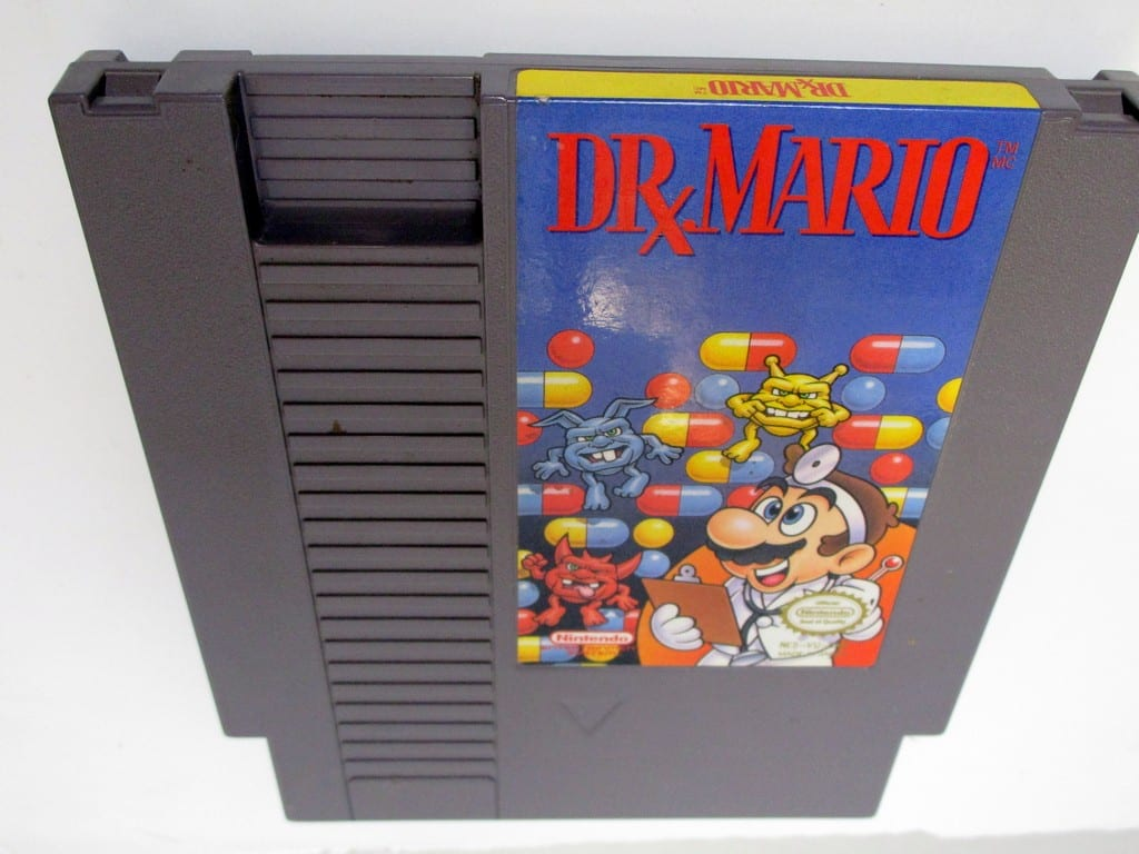 Dr. Mario game for Nintendo NES - Loose