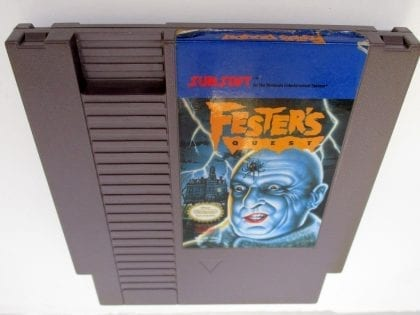 Fester's Quest game for Nintendo NES - Loose