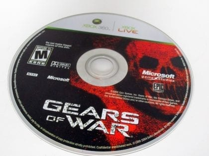 Gears of War game for Microsoft Xbox 360 - Loose