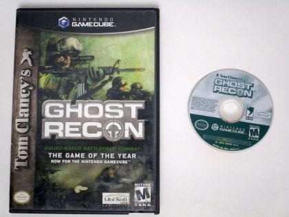 Ghost Recon game for Nintendo Gamecube -Game & Case