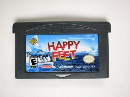 Happy Feet game for Nintendo Gameboy Advance - Loose