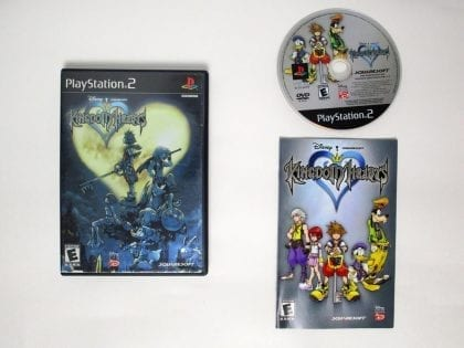 Kingdom Hearts game for Sony Playstation 2 PS2 -Complete