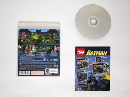 LEGO Batman The Videogame game for Playstation 3 (Complete) | The Game Guy