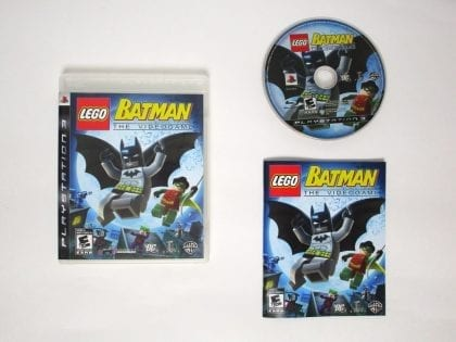 LEGO Batman The Videogame game for Sony Playstation 3 PS3 -Complete