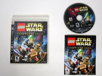 LEGO Star Wars Complete Saga game for Playstation 3 (Complete) | The ...