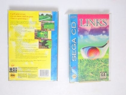 Links The Challenge of Golf game for Sega CD -Complete