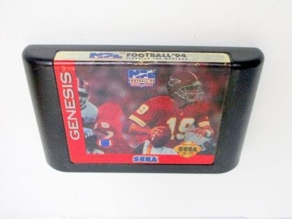 NFL Football '94 Starring Joe Montana game for Sega Genesis - Loose