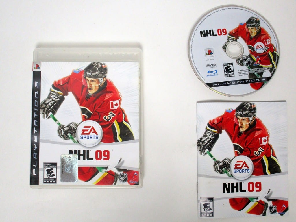 NHL 09 game for Sony Playstation 3 PS3 -Complete