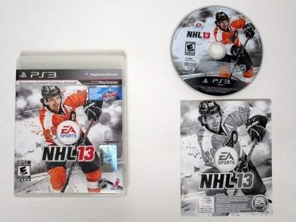 NHL 13 game for Sony Playstation 3 PS3 -Complete