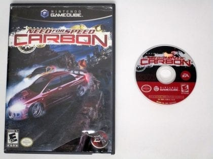 Need for Speed Carbon game for Nintendo Gamecube -Game & Case