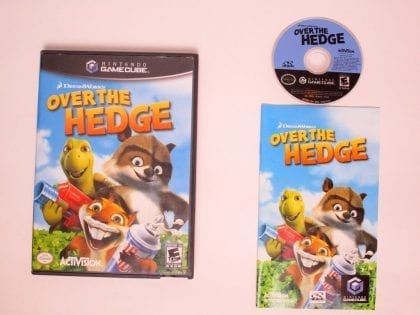 Over the Hedge game for Nintendo Gamecube -Complete