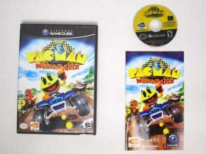 Pac-Man World Rally game for Nintendo Gamecube -Complete