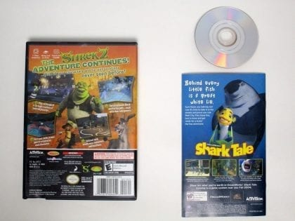 Shrek 2 game for Gamecube (Complete) | The Game Guy