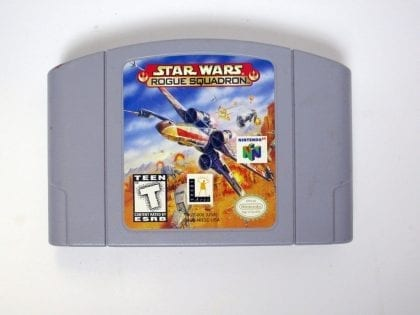 Star Wars Rogue Squadron game for Nintendo 64 N64 - Loose