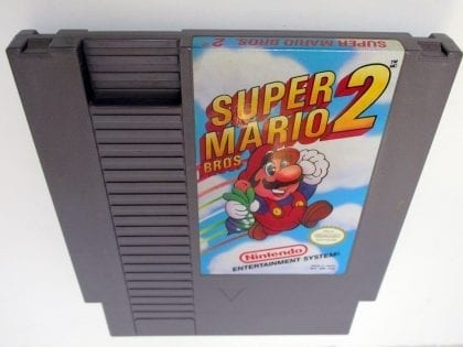 Super Mario Bros 2 game for Nintendo NES - Loose