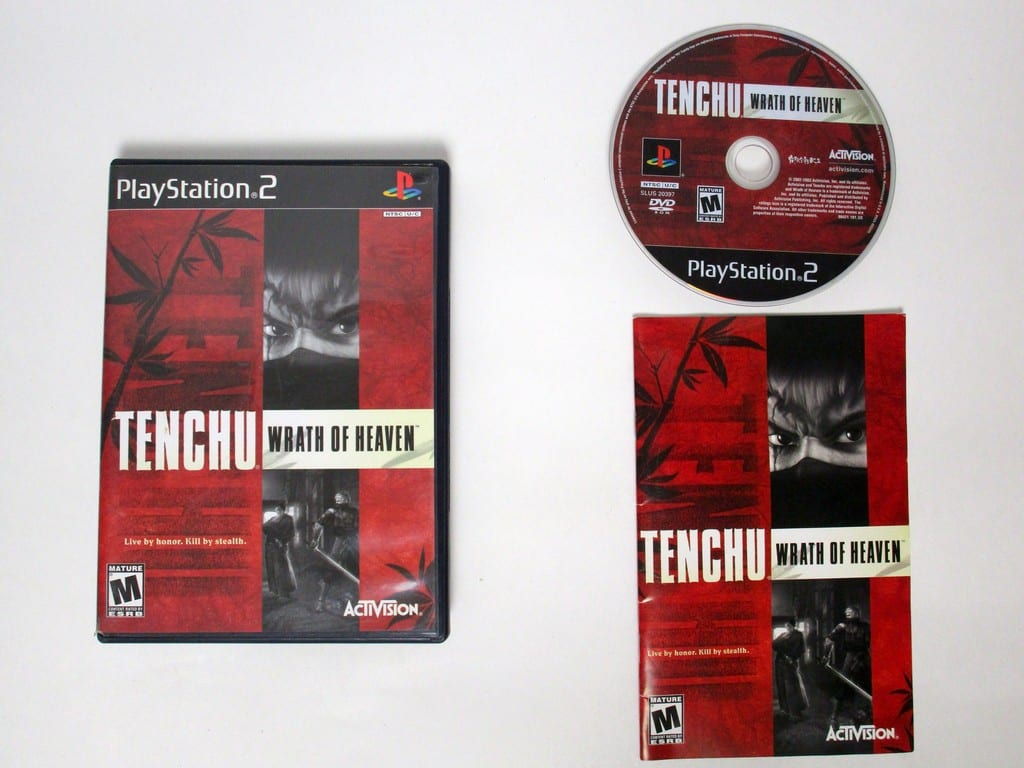 tenchu 3 wrath of heaven