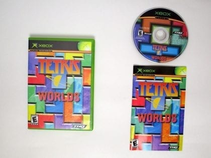 Tetris World Online game for Microsoft Xbox -Complete