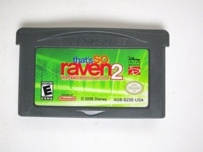 That's So Raven 2 Supernatural Style game for Nintendo Gameboy Advance - Loose