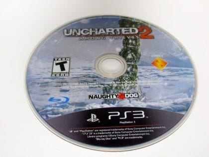 Uncharted 2: Among Thieves game for Sony Playstation 3 PS3 - Loose