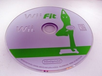 Wii Fit (Game Only) game for Nintendo Wii - Loose